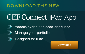 Download the CEFConnect iPad App