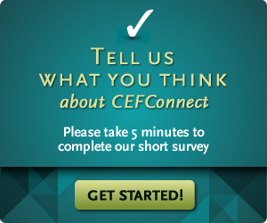 Tell us what you think of CEFConnect